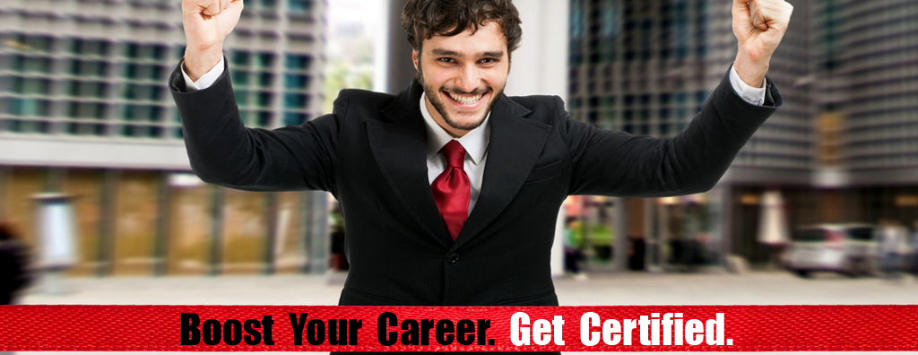 Boost your career. Get certified